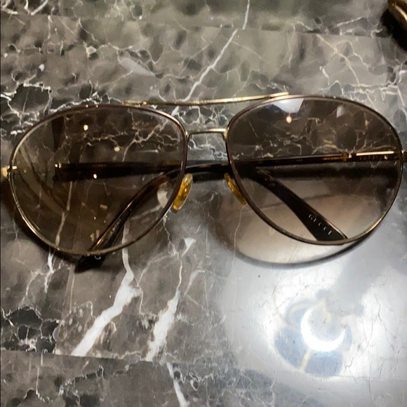 Gucci sunglasses- vintage aviator style